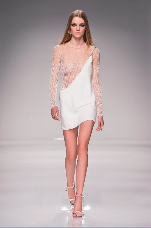 38-atelier-versace-ss-2016-couture-fashion-show-white-sheer-panel-mini-dress-sexy-best-hot
