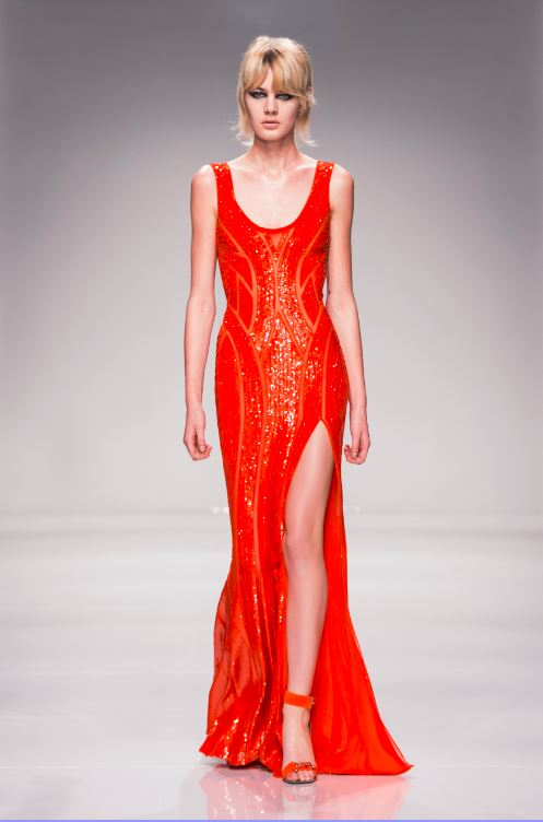 42-atelier-versace-ss-2016-couture-fashion-show-red-slit-maxi-dress-glossy-shiny-sequin