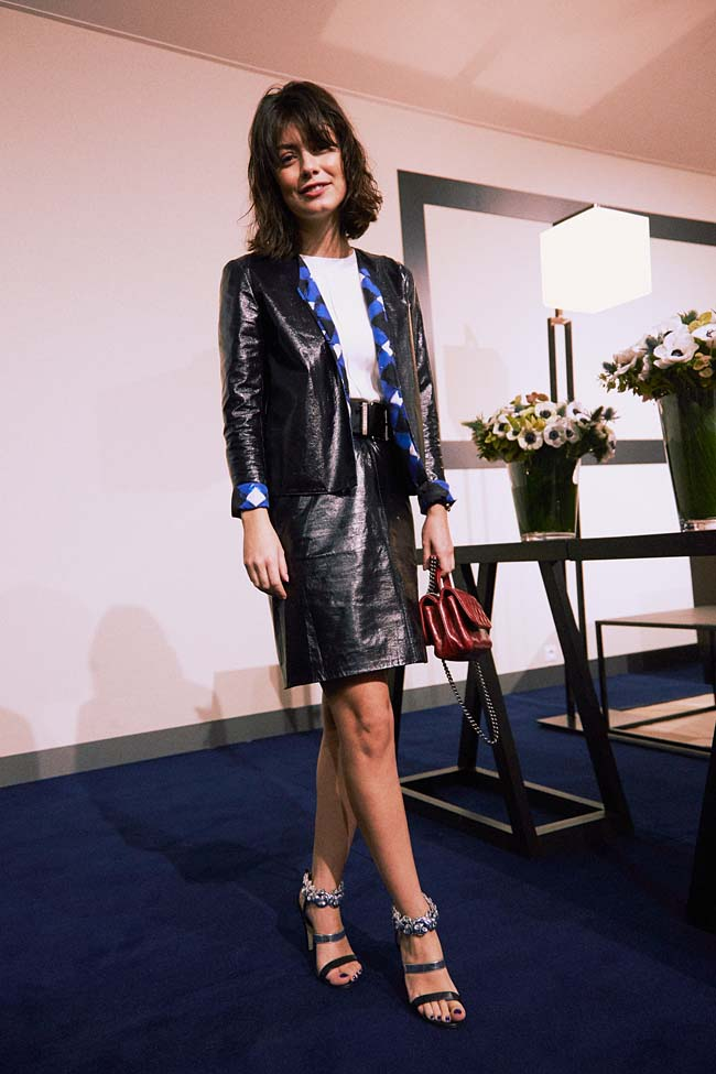 Alessandra-MASTRONARDI--chanel-ss16-couture-celebrity-fashion-style-dress