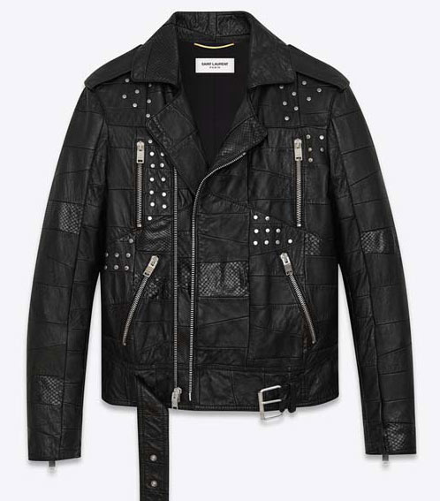 PATCHWORK-MOTORCYCLE-JACKET-IN-BLACK-LEATHER-AND-BLACK-PYTHON-EMBOSSED-LEATHER