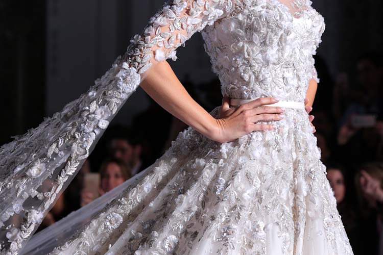 Ralph russo ss16 couture bridal dress runway shilpa ahuja for Ralph and russo wedding dress