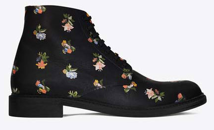 SAINT-LAURENT-LOLITA-20-LACE-UP-BOOT-IN-BLACK-AND-MULTICOLOR-PRAIRIE-FLOWER-PRINTED-LEATHER