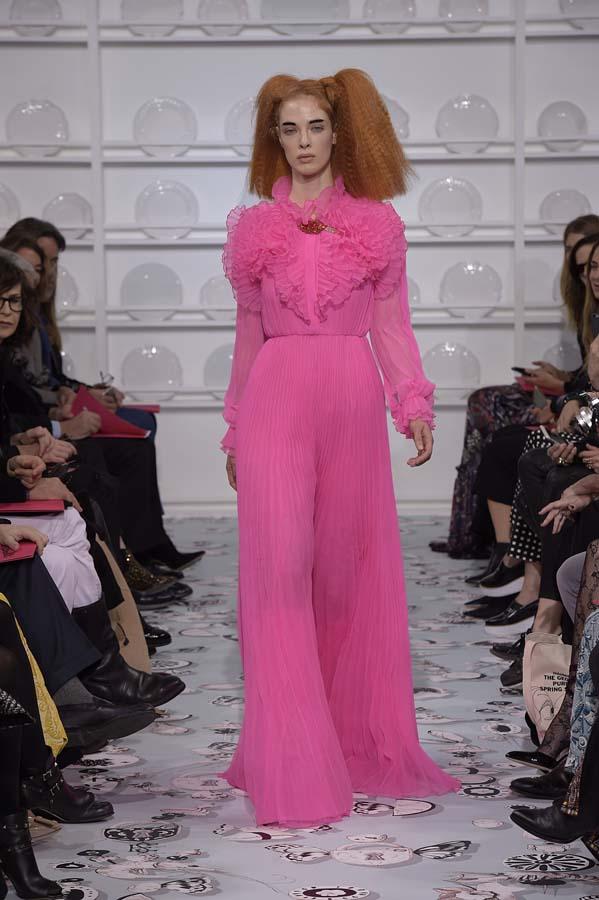 Schiaparelli-spring-summer-2016-couture-fashion-show-paris-week-17-hot-pink-maxi-dress