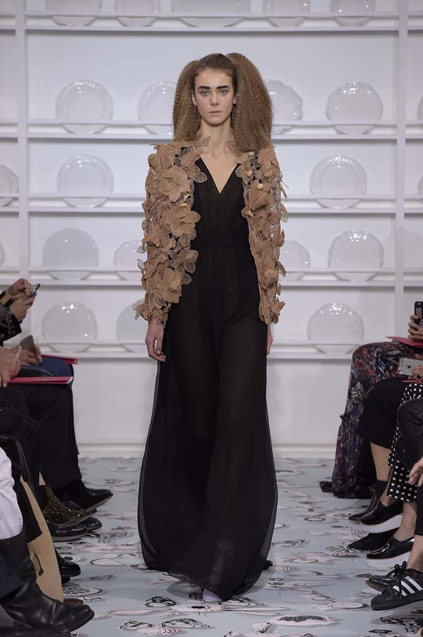 Schiaparelli-spring-summer-2016-couture-fashion-show-paris-week-24-dress-designer-outfit-black-brown-jacket