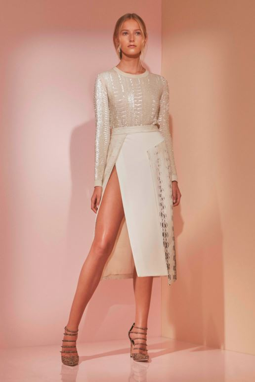 best-top-latest-looks-pre-fall-2016-looks-skirt-skit-thigh-high-prabal-gurung-sexy