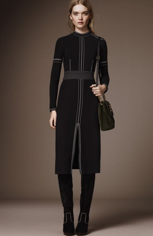 best-top-pre-fall-2016-looks-dresses-burberry-black-minimalist-dress-pants