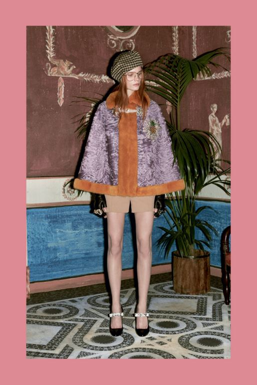 best-top-pre-fall-2016-looks-dresses-gucci-purple-brown-cape-jacket