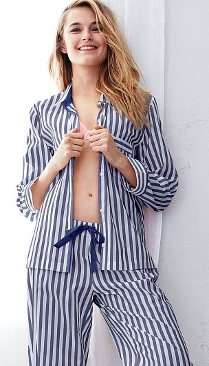 blue-white-striped-mayfair-Pajama-Set-top-victorias-secret-sleepwear-for-women-winter-2016-best