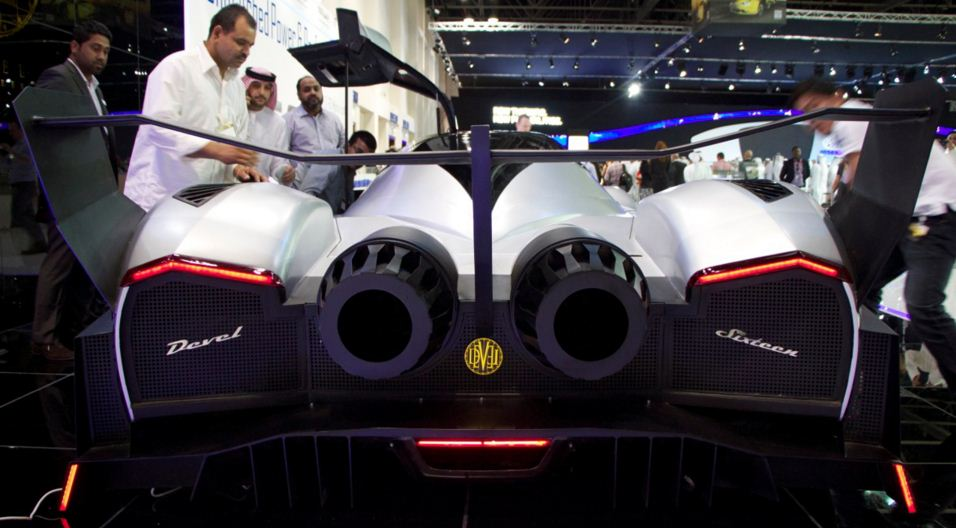 Devel Sixteen 16 Devil 1 Hyper Car Supercar Sportscar