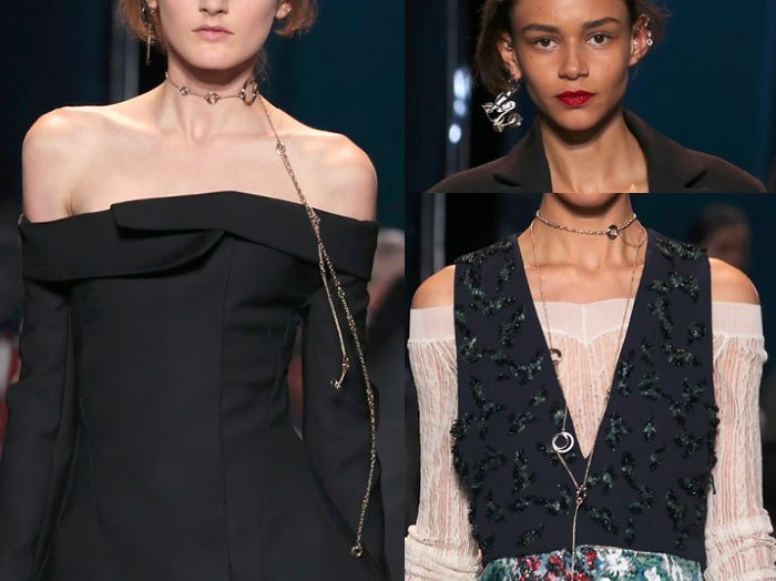 dior-spring-summer-2016-couture-outfit-jewelry-earrings-necklace-chain-charms