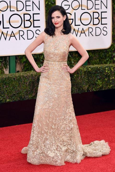 eva-green-pale-gold-gown-golden-globe-awards-2016-celebrity-red-carpet-dresses