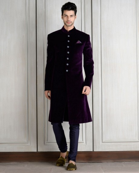 indian-men-traditional-wedding-marriage-wear-clothing-designer-purple-sherwani-manish