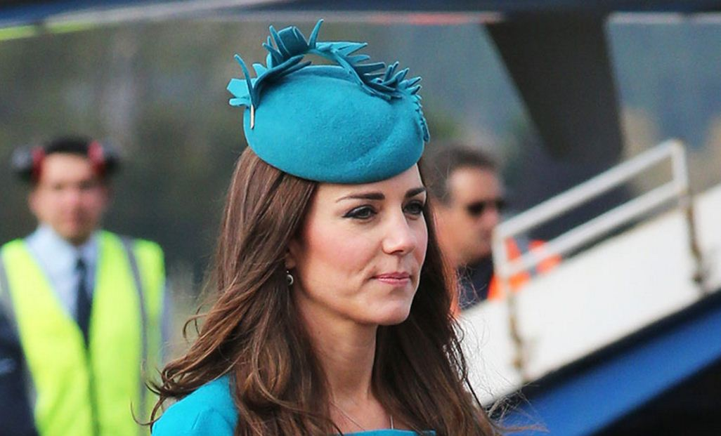 kate-middleton-best-blue-turquoise-felt-spike-hat-designer-fashion-celeb-princess-look