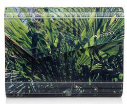 latest-jimmy-choo-candy-palm-print-green-black-clutch-spring-summer-2016-collection-handbag