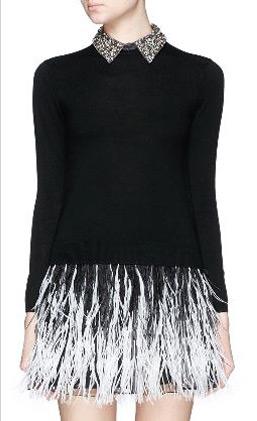 latest-winter-2016-sweater-trends-alice-olivia-bead-collar-black-fringe-ombre
