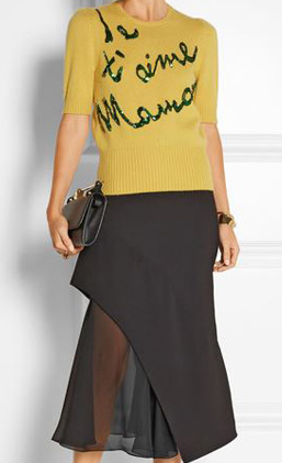 latest-winter-2016-sweater-trends-dolce-gabbana-yellow-embellished-maman-sequin