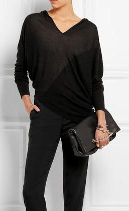 latest-winter-2016-sweater-trends-donna-karan-asymmetric-cashmere-hooded