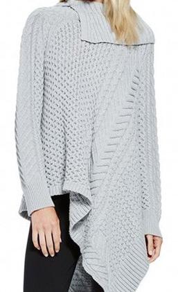 latest-winter-sweater-trends-2016-asymmetric-grey-mixed-stitch-oversized-collar