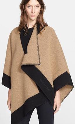 latest-winter-sweater-trends-2016-burberry-color-border-cape-beige-black