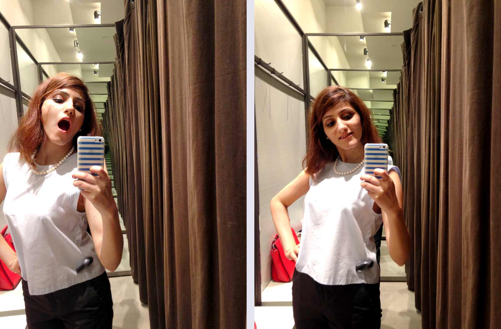 shilpa-ahuja-fashion-blogger-zara-spring-summer-2016-collection-review-changing-room-selfie