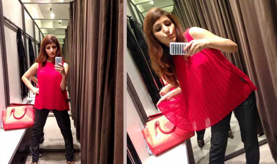 shilpa-ahuja-fashion-blogger-zara-spring-summer-2016-collection-review-red-top