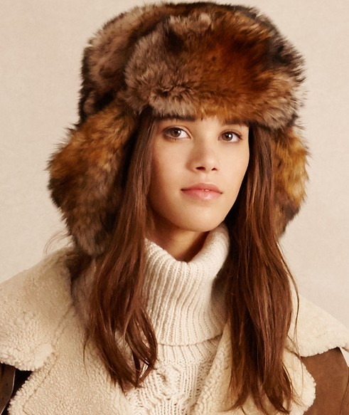 winter-accessories-latest-trends-women-hats-caps-shearling-trapper-taupe-ralph-lauren