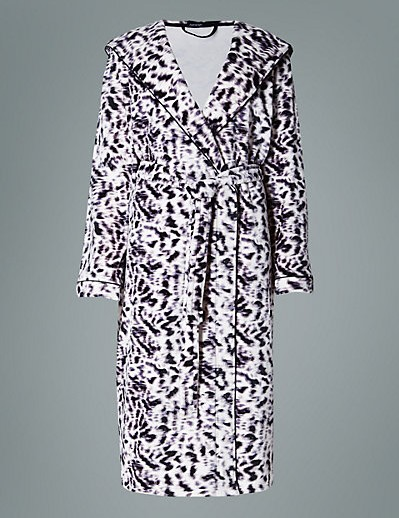 women-ladies-sleepwear-nightwear-animal-print-fleece-dressing-gown-nightgown