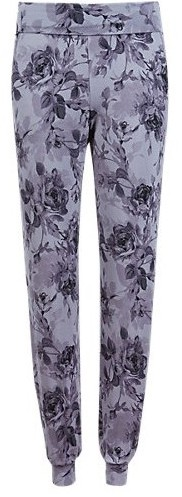women-ladies-sleepwear-nightwear-pajama-pants-pjs-floral-print-purple