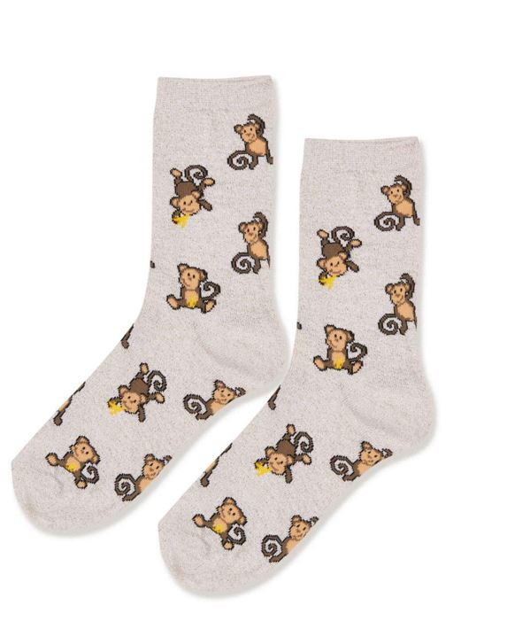 All-Over-Monkey-Print-Socks