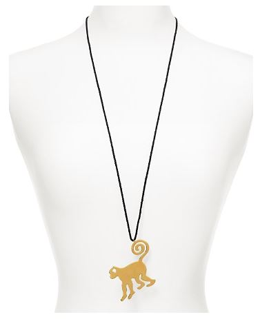 DIANE-von-FURSTENBERG-Monkey-Pendant-Necklace