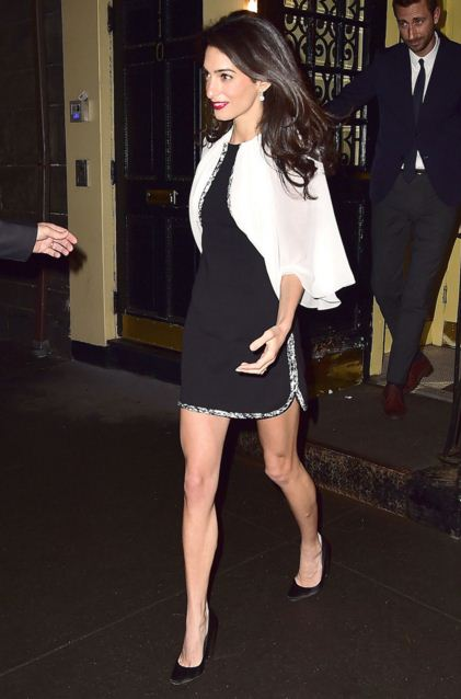 amal-clooney-best-party-dresses-black-white-top-celeb-celebrity