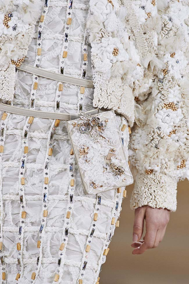 Making of chanel spring couture fashion show details