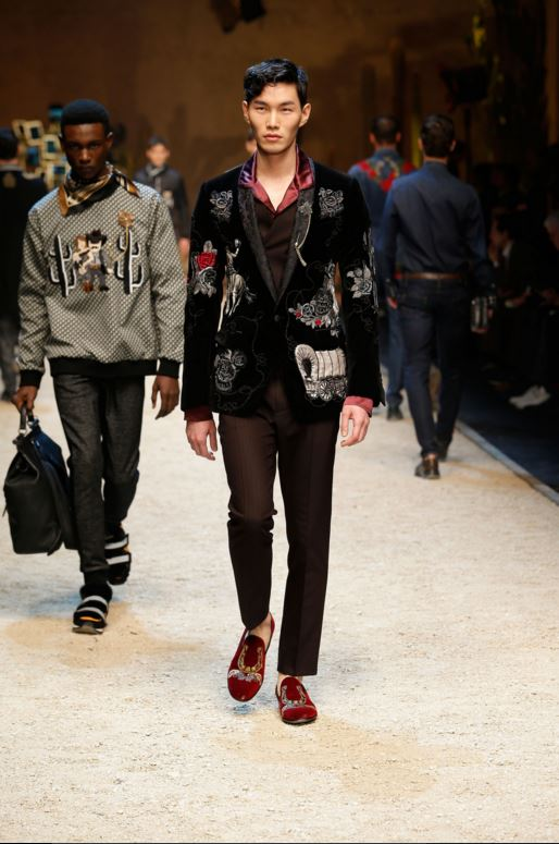 dolce-gabbana-mens-latest-fashion-trends-fall-2016-winter-2017-laceless-shoes-loafers