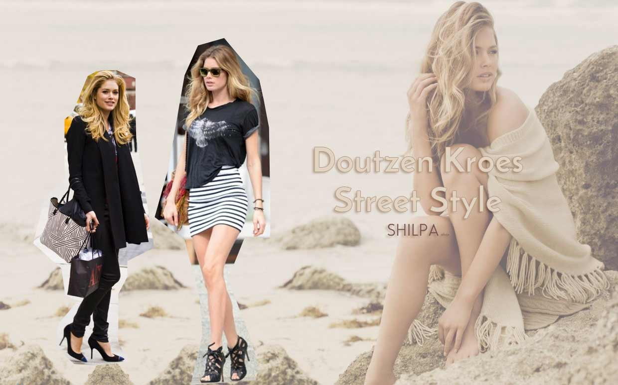 Fashion style Kroes doutzen look of the day for girls