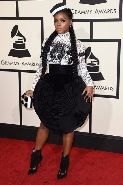 grammy-awards-2016-best-red-carpet-dresses-appearances-janelle-monae