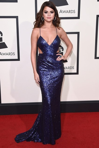 grammy-awards-2016-best-red-carpet-dresses-appearances-selena-gomez