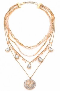 honeymoon-shopping-sexy-comfortable-outfit-five-row-pendant-necklace