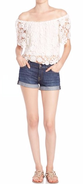 honeymoon-shopping-sexy-comfortable-outfit-white-lace-top-denim-shots