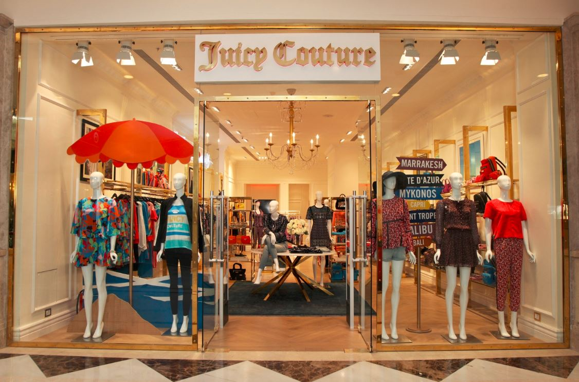 Something Juicy in New Delhi  The New Juicy Couture Store! 0cd1edb35