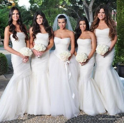 kim-kardashian-wedding-dress-best-celebrity-wedding-dresses-bridal-white