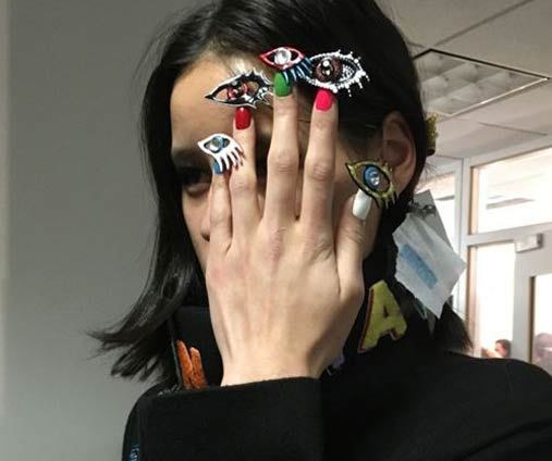 latest-nail-art-ideas-trends--3d-nails-spring-summer-2016-nailpolish-nyfw