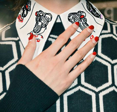 latest-nail-art-trends-spring-summer-2016-red-christian-louboutin-tips-paris-fashion-week