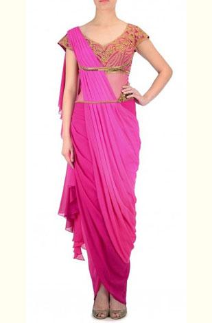 latest-saree-trends-2016-designs-designer-ombre-mandira-wirk-pink