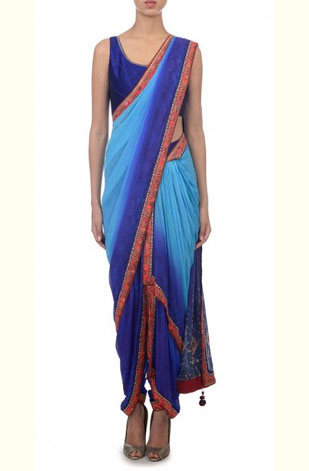 latest-saree-trends-2016-designs-designer-ombre-tarun-tahiliani-blue