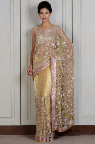 latest-saree-trends-2016-designs-designer-sheer-opaque-gold-manish-malhotra