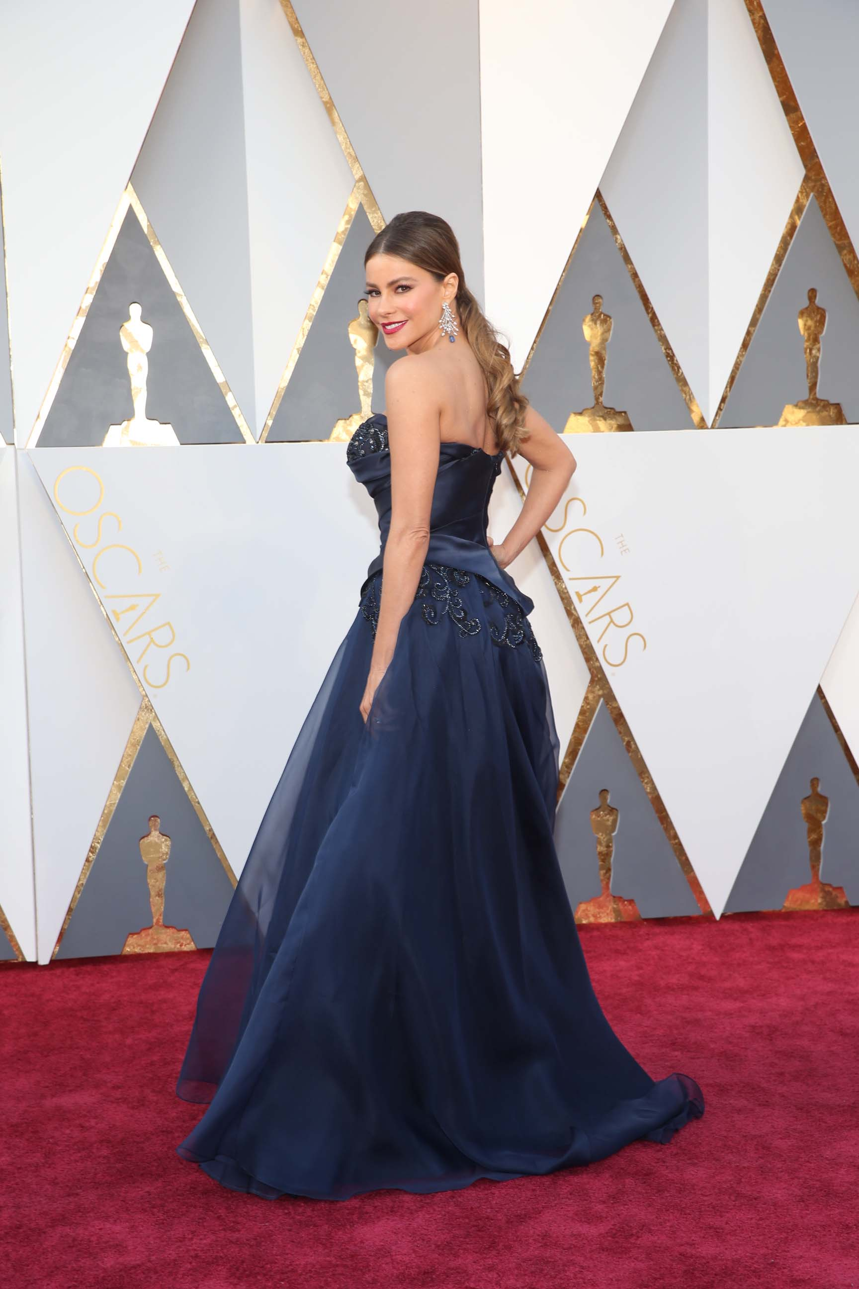 Best oscar dresses best dressed celebrities at oscars 2016 - Red carpet oscar dresses ...