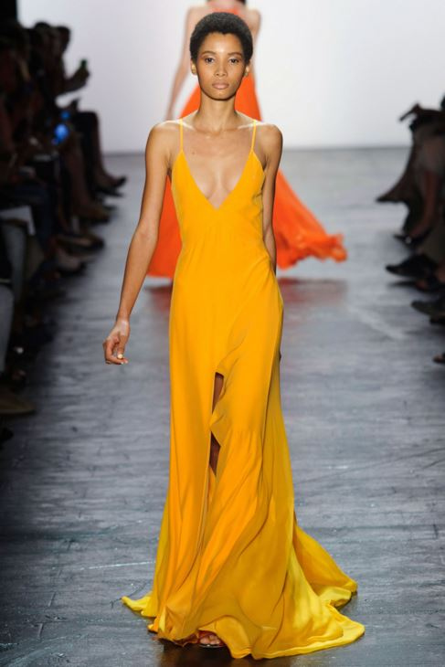 prabal-gurung-spring-2016-best-looks-summer-new-york-fashion-week-trends-top-best-yellow-maxi