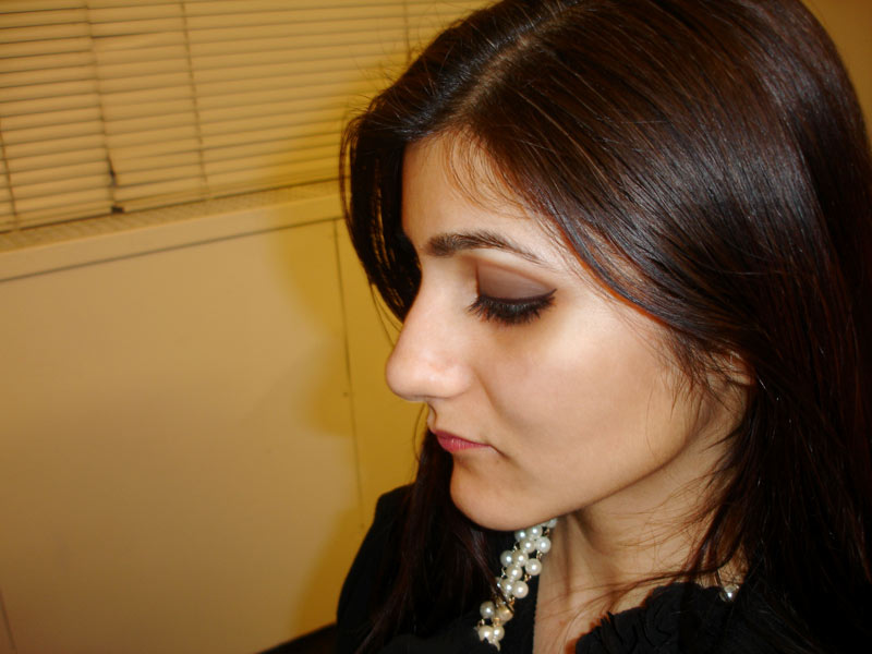 Night Out Outfit For Winter Black Grey And Pearl Look