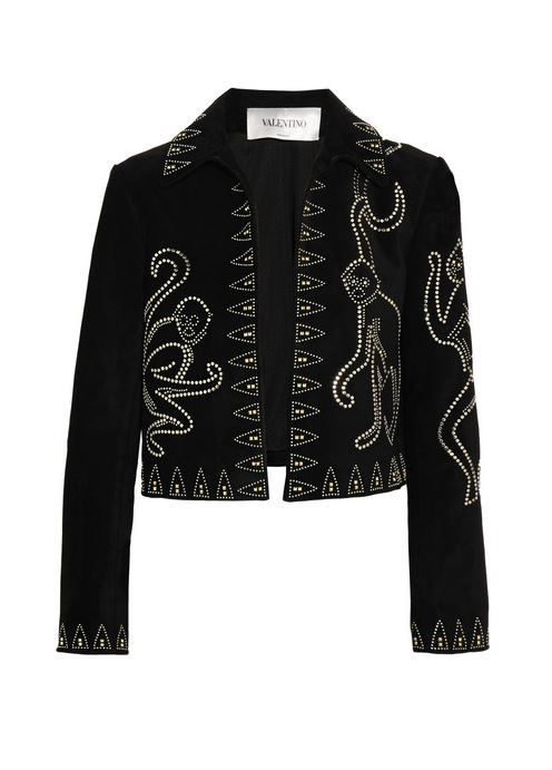 valentino-Studded-suede-jacket