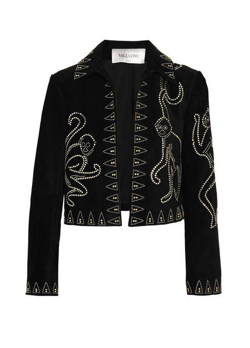 valentino-Studded-suede-jacket